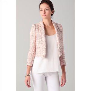 Alice + Olivia Women's Natural Jacks Tweed Blazer